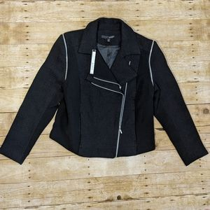 Harve Bernard Double Zipper Motor Jacket/ Vest